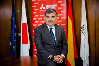Pedro Ruiz, Presidente de Mitsubishi Electric Europe, B.V., sucursal España