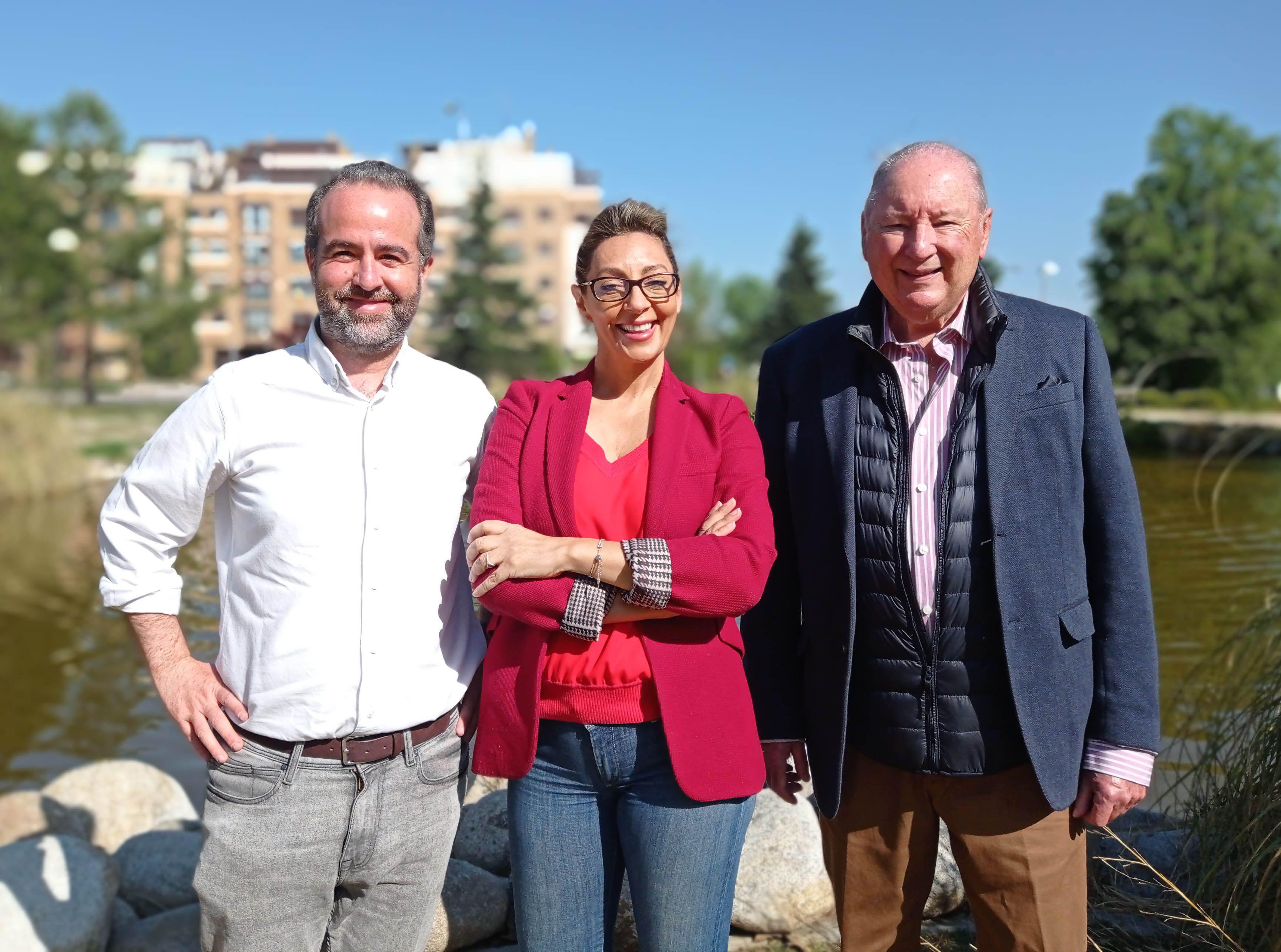 Fotografia José Luis Cáceres, Mariló Sánchez-Fuentes y Rodolfo