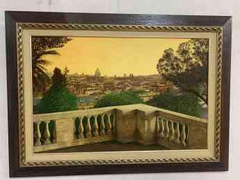 Foto de En abril, óleos de Enrique Sánchez Huerta, en el Espacio