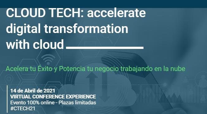 Foto de CLOUD TECH: accelerate digital transformation with cloud