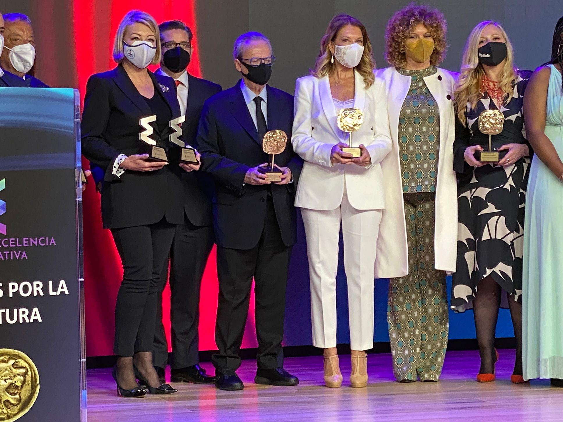 Fotografia Gala Premios Excelencia Educativa 2021