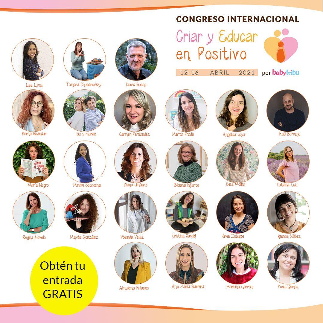 Foto de Ponentes Congreso Criar y Educar en Positivo