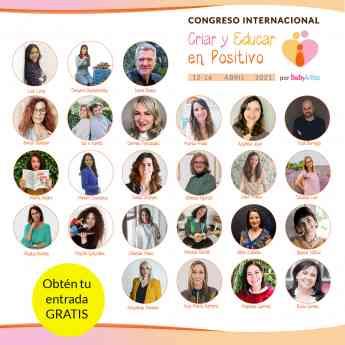 Ponentes Congreso Criar y Educar en Positivo