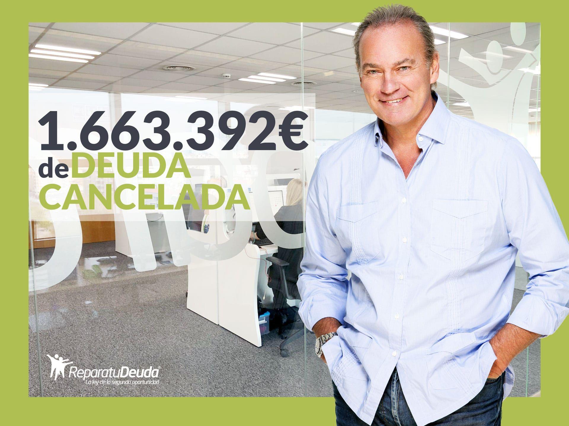 Repara tu Deuda Abogados cancela 1.663.392 ? de deuda en Barcelona con la Ley de la Segunda Oportunidad