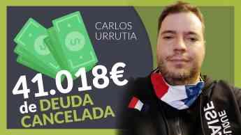 Carlos Urrutia, exonerado con Repara Tu Deuda con la Ley de Segunda