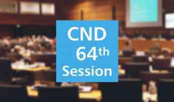 64ª sesión de la Comisión de Estupefacientes