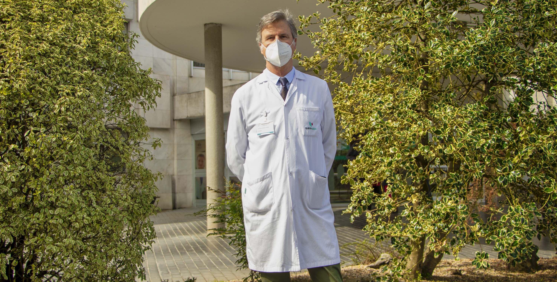 Fotografia El neurólogo de Policlínica Gipuzkoa, Gurutz Linazasoro.