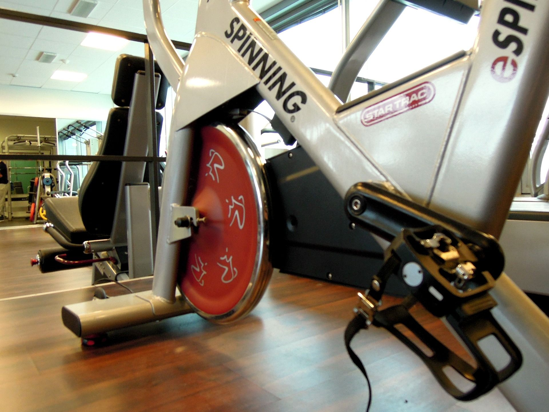 Fotografia Bicicleta spinning