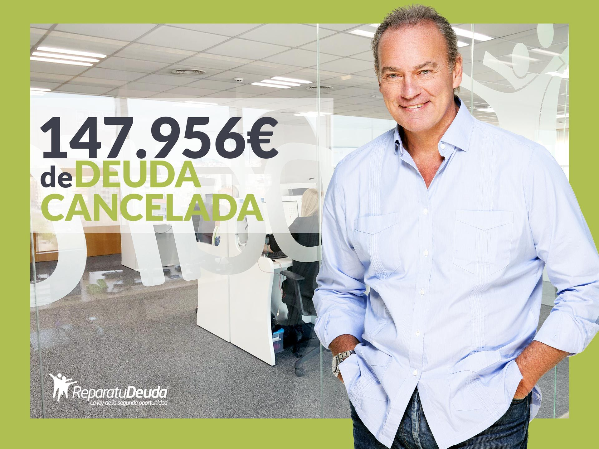 Repara tu Deuda Abogados cancela 147.956 ? en Terrassa (Barcelona) con la Ley de la Segunda Oportunidad