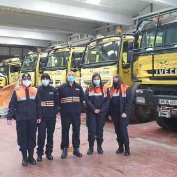 Los nuevos voluntarios de Protección Civil se forman adecuadamente