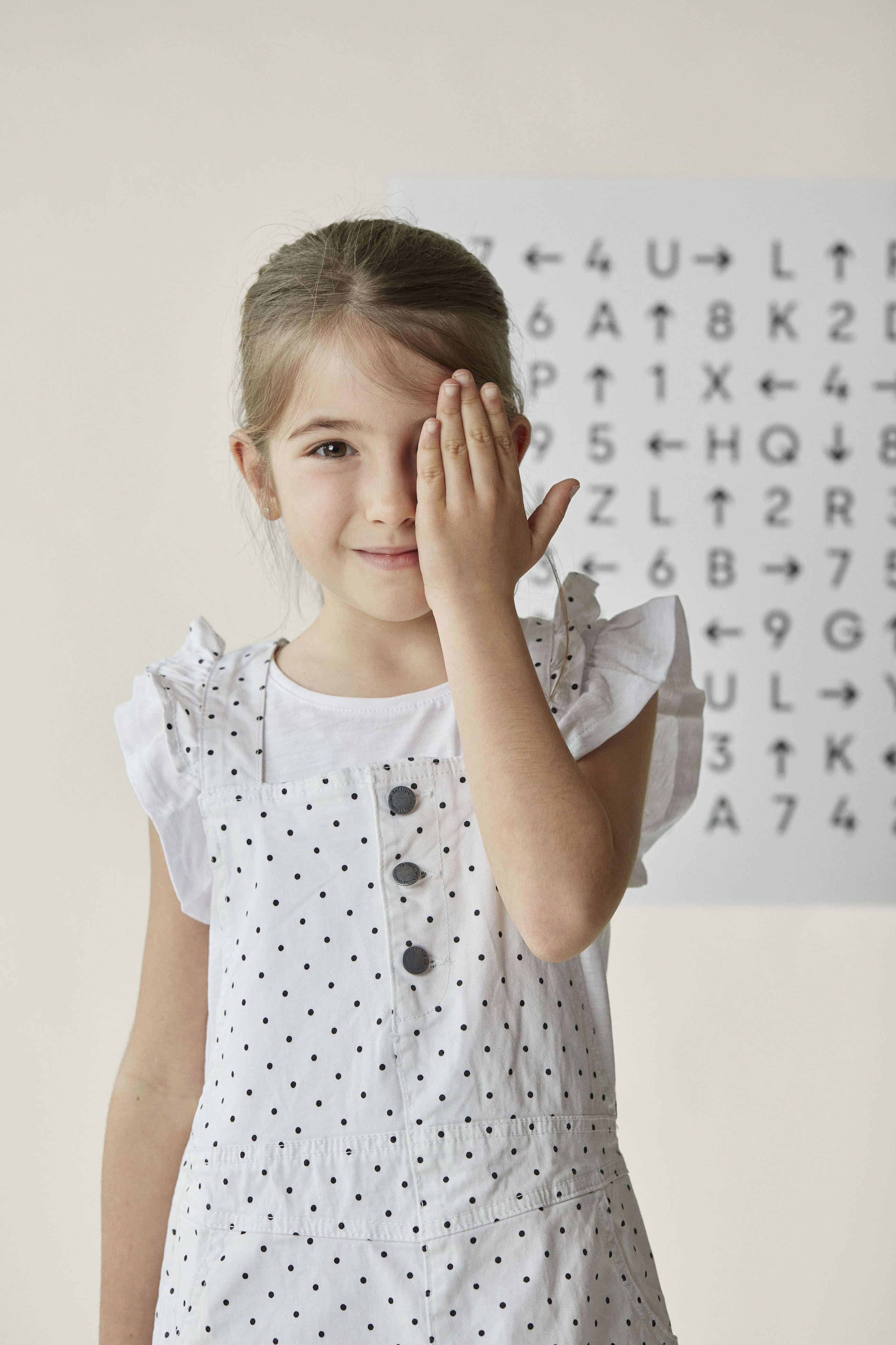 Foto de Entrenamiento visual infantil