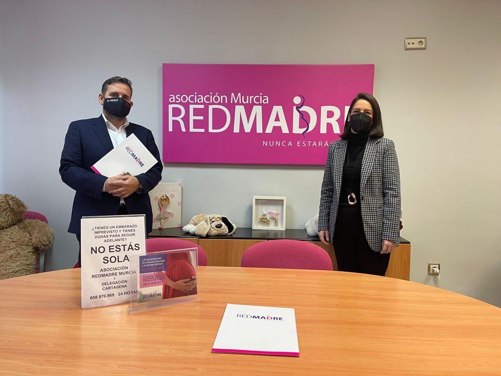 Fotografia REDMADRE y Fundación El Mosca
