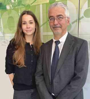 Maite Guillem y Rafael Montava de Cromogenia Units