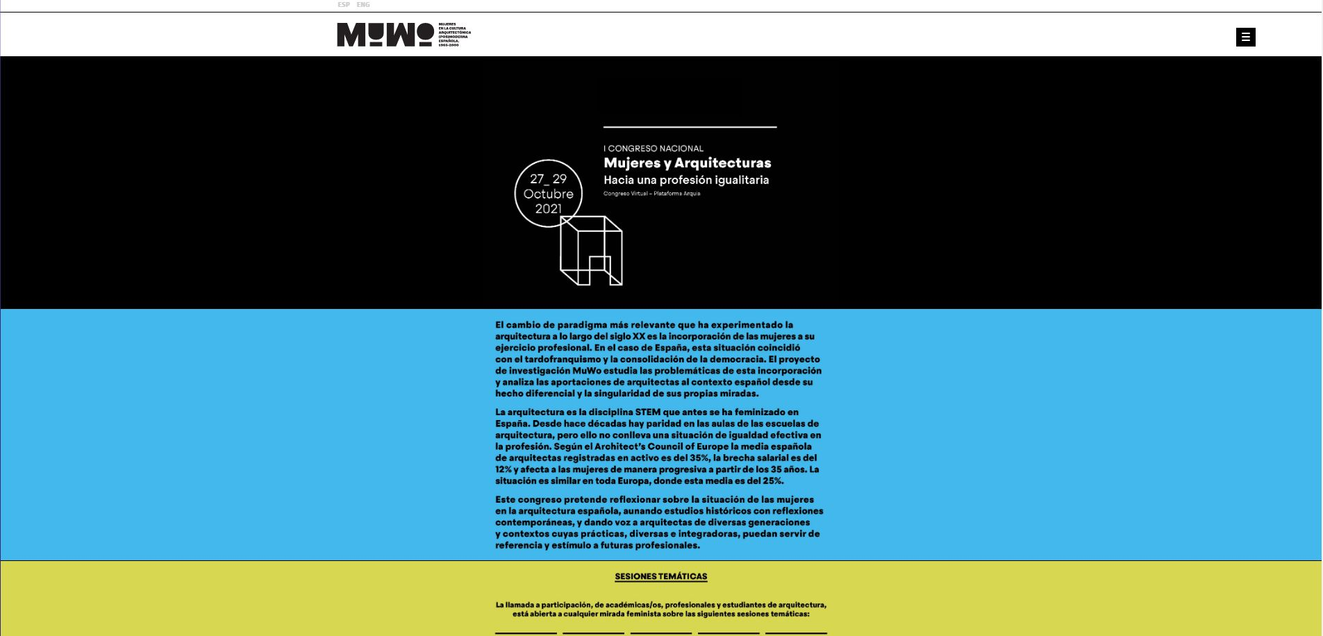 Fotografia Web del proyecto MuWo