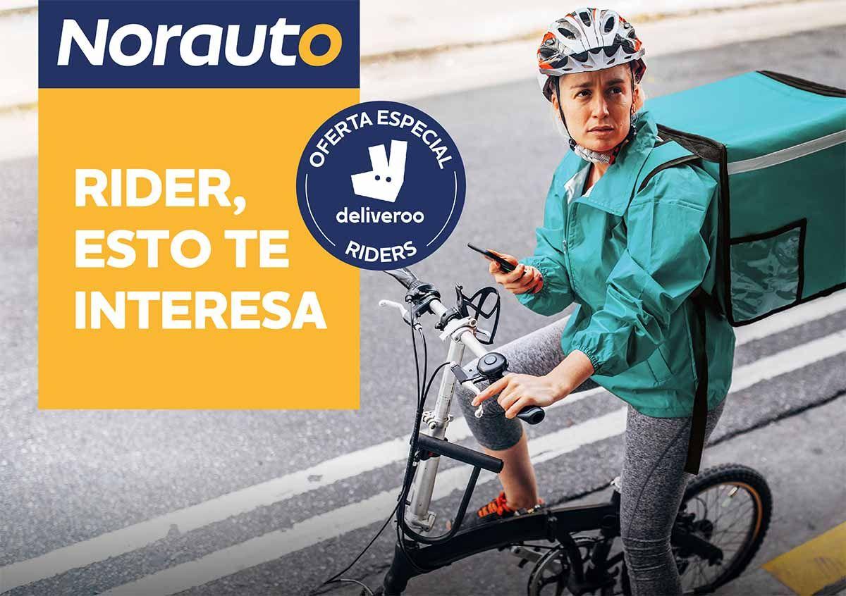 Norauto se une a Deliveroo para fomentar la movilidad sostenible y segura
