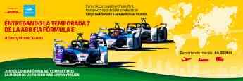 DHL socio principal de la Fórmula E