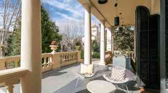 Foto de Vista del porxo de Villa Narcissa