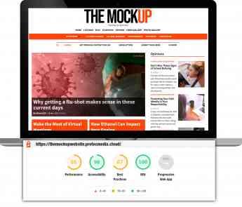 Noticias Internet | Puntuación SEO en Google Lighthouse del CMS de