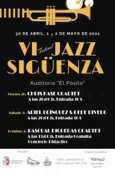 Foto de Cartel VI Festival de Jazz de Sigüenza