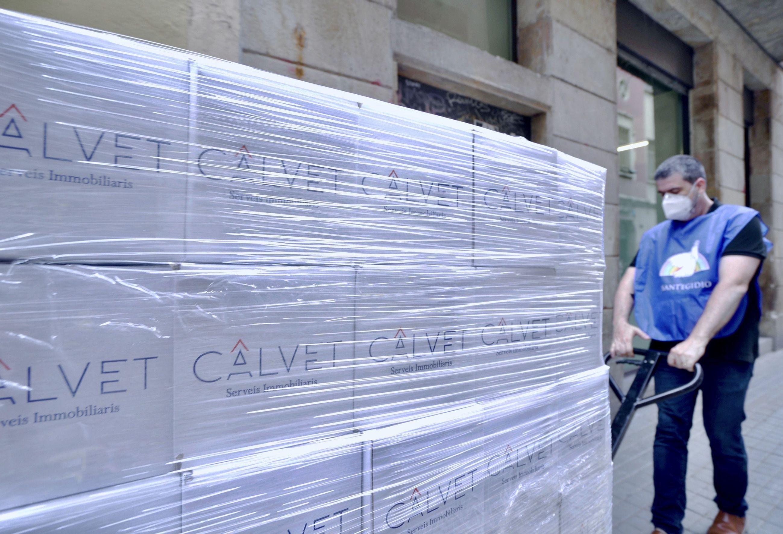 Foto de Campaña Solidaria CALVET- Comunitat Sant'Egidio.