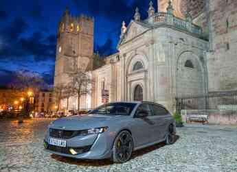 Foto de Peugeot elige Sigüenza para presentar su nuevo modelo 508 PSE