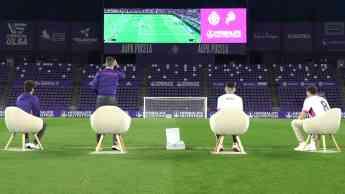Megafifa: el evento que conecta el mundo del fútbol y los eSports a través del videomarcador del José Zorrilla