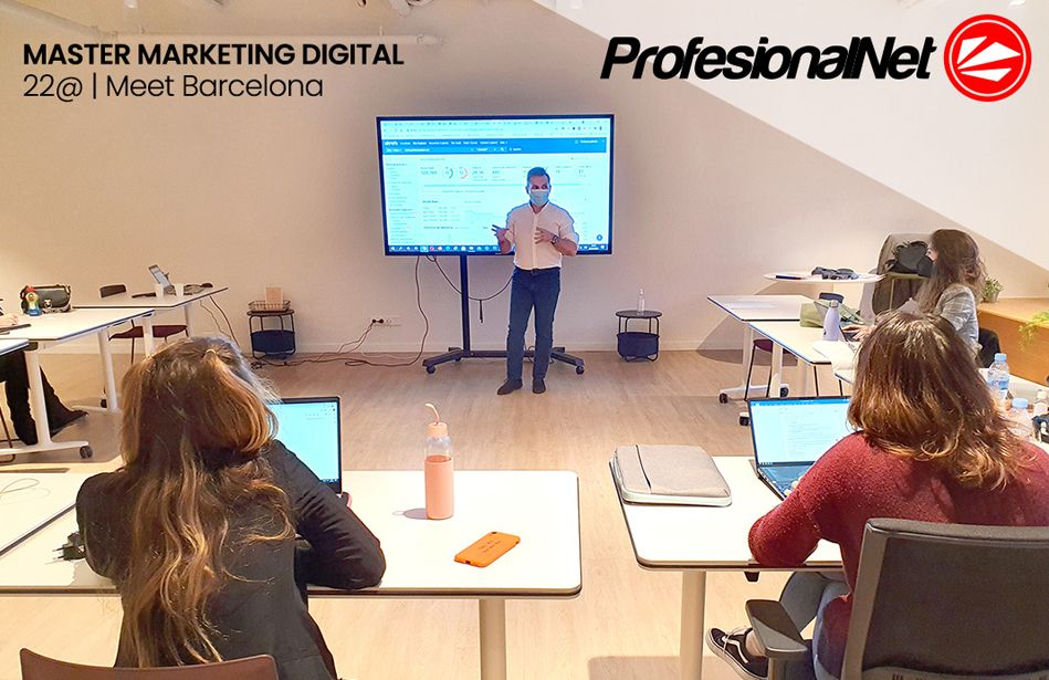 Fotografia Curso estrategias de marketing digital para emprendedores