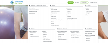 Canarias Medical, Servicio a Domicilio