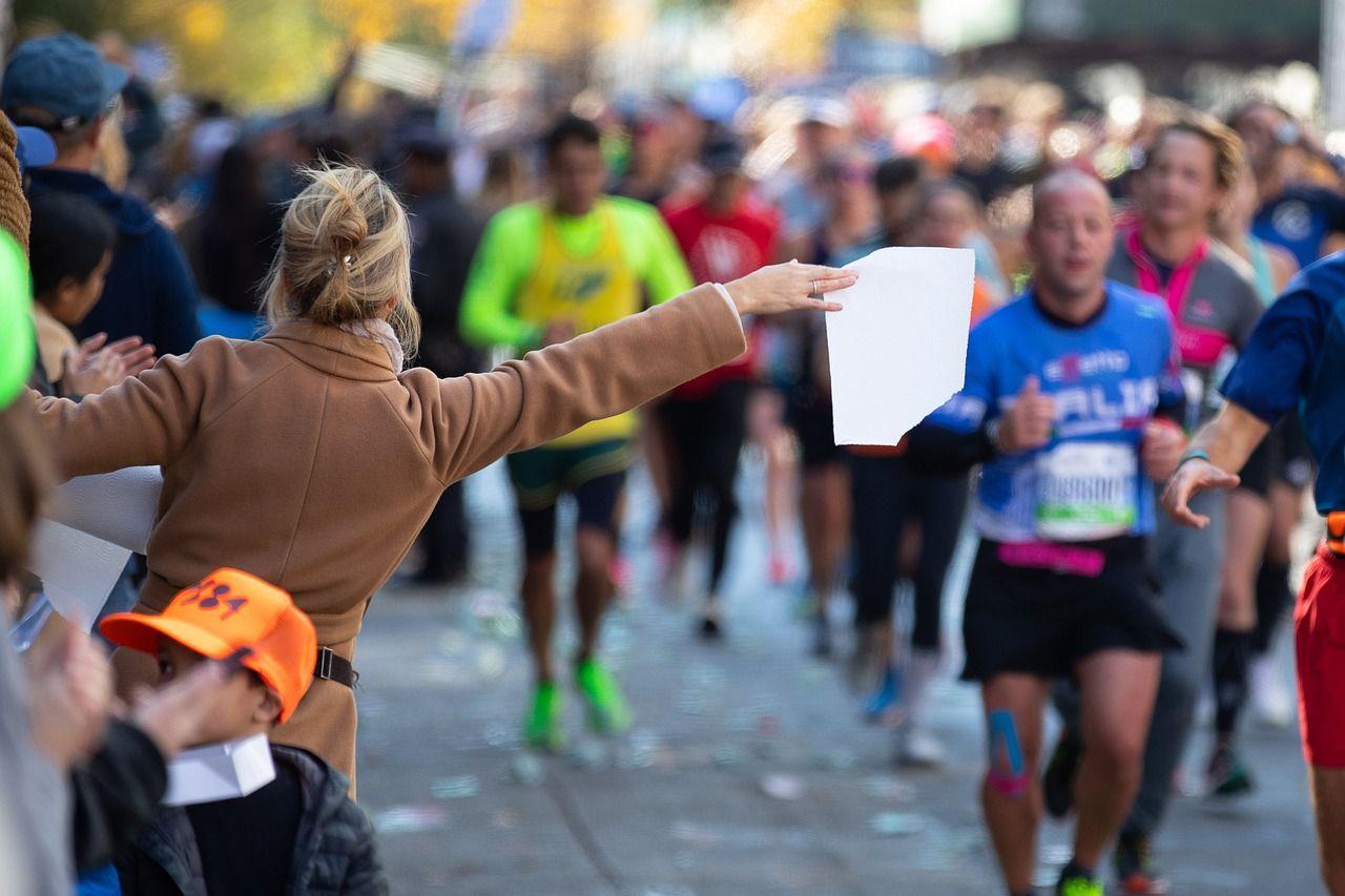Fotografia Maratón de Nueva York
