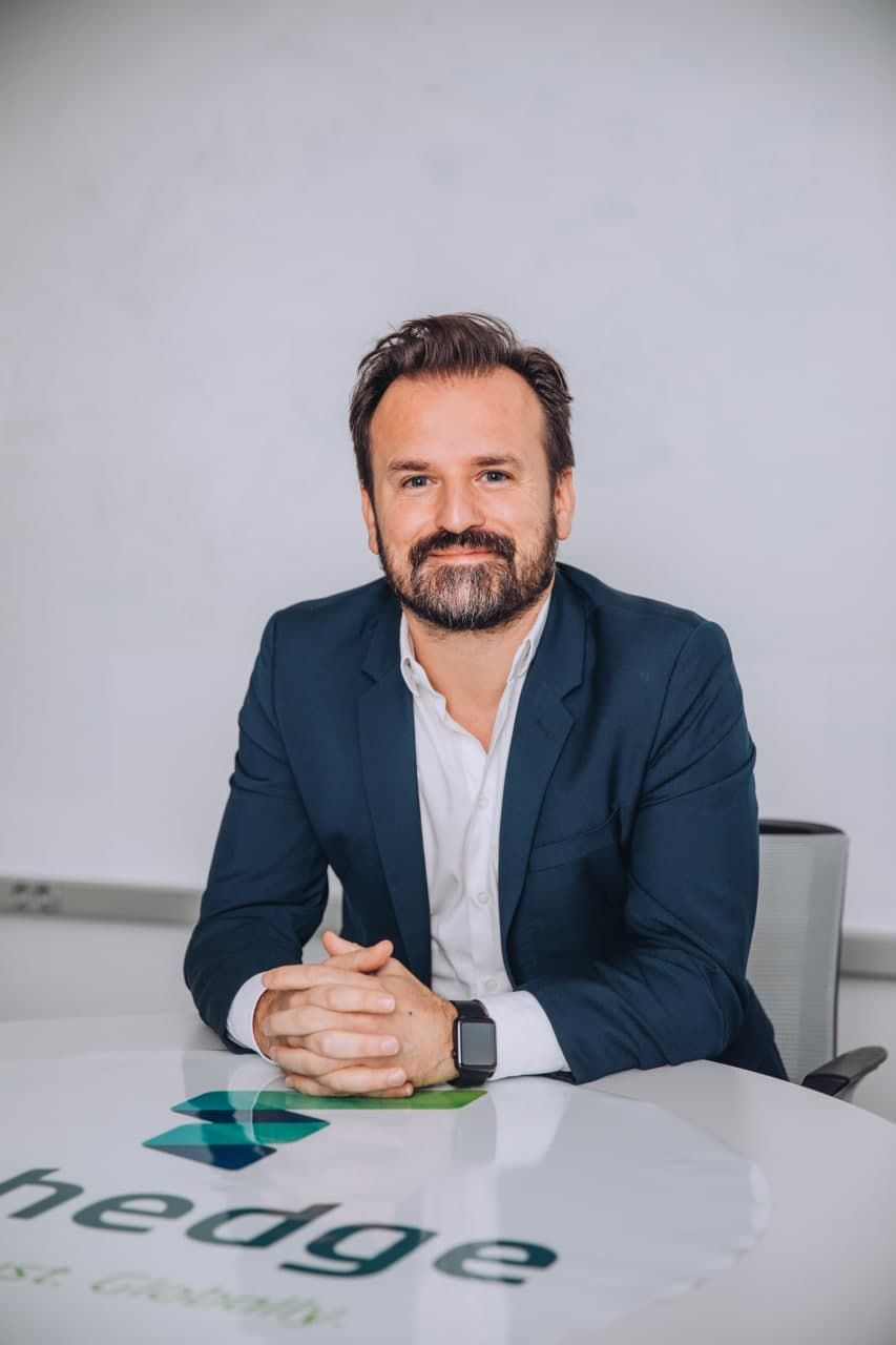 Foto de Daniel Valdés. Managing Director Techedge España