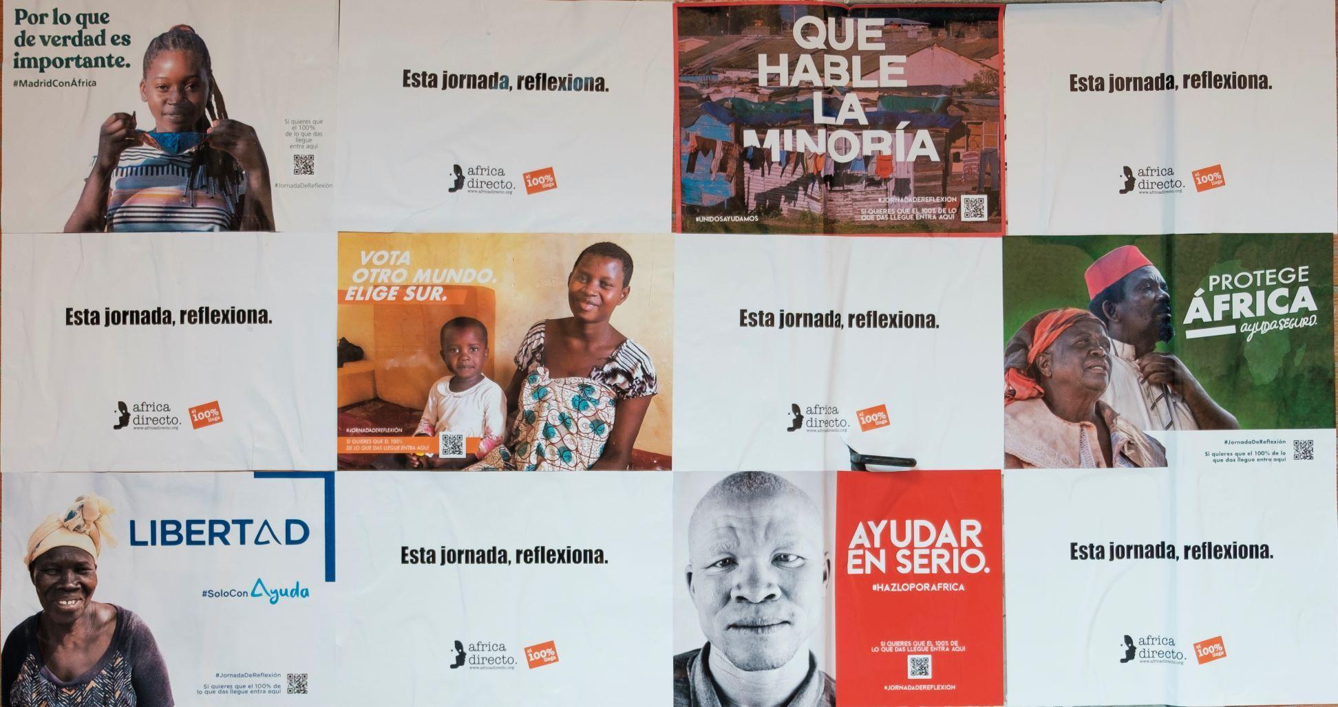 Fotografia Campaña Solidaria Africa Directo