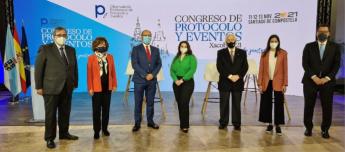 Foto rueda de prensa del Congreso de Protocolo