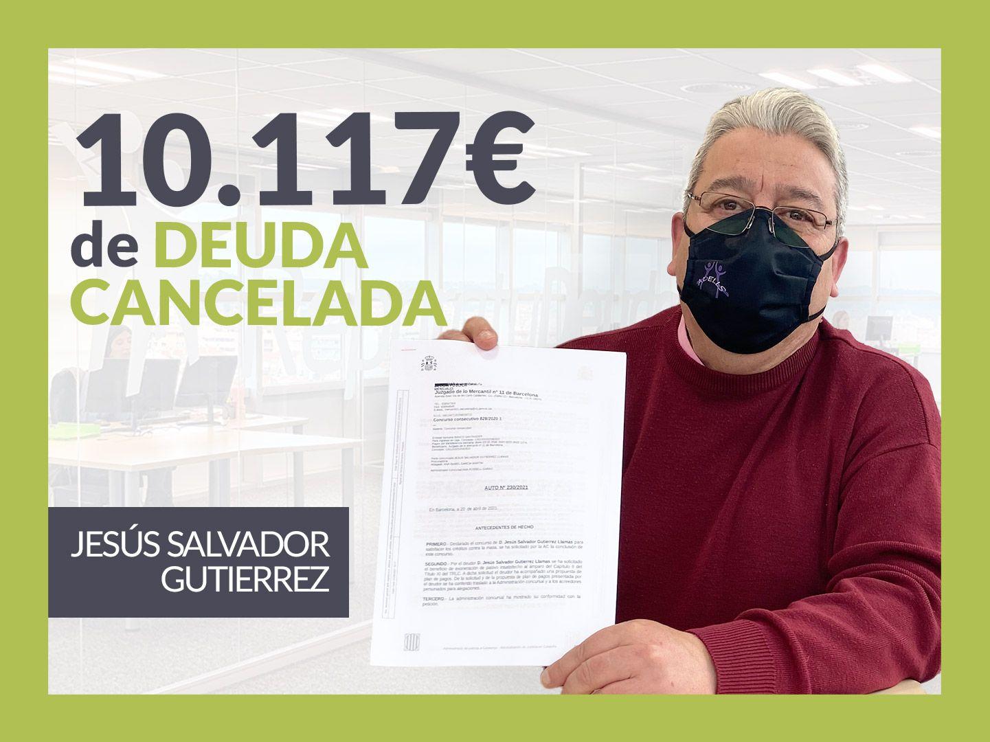 Foto de Jesús Salvador, exonerado con Repara Tu Deuda con la Ley de