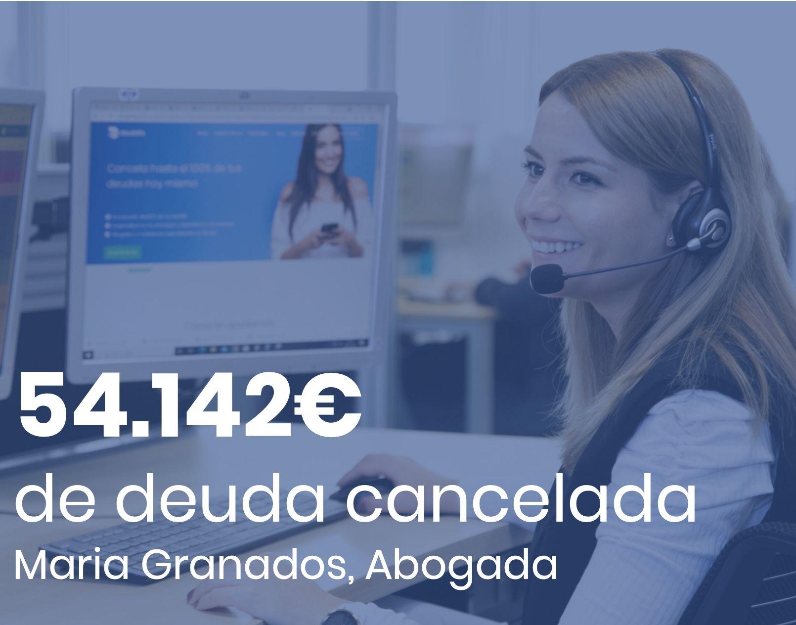 Deudafix Abogados cancela 54.142 ?, incluyendo 18.081 ? con BBVA, con la Ley de Segunda Oportunidad