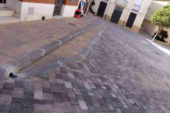 Foto de Continúan las obras de mejora en las calles de Cogolludo