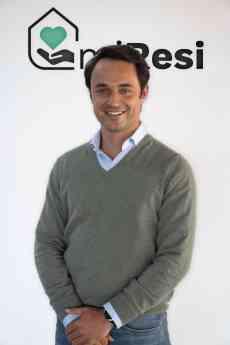 Pablo Otero, joven empresario, es el fundador de miResi.