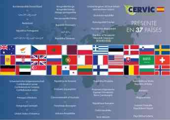 Foto de Cervic- 37 paises
