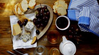 Maridaje té y queso