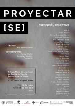 Exposición colectiva de artistas emergentes 'Proyectar[se]' en la demarcación de Toledo del COACM