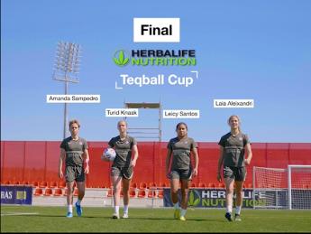 Foto de Final de la Herbalife Nutrition Teqball Cup: ¿qué jugadoras