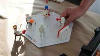 Foto de Participantes interactuando