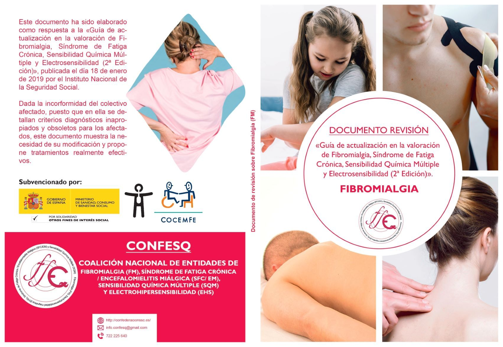 Foto de Documento de Revisión a la Guia del INSS sobre Fibromialgia
