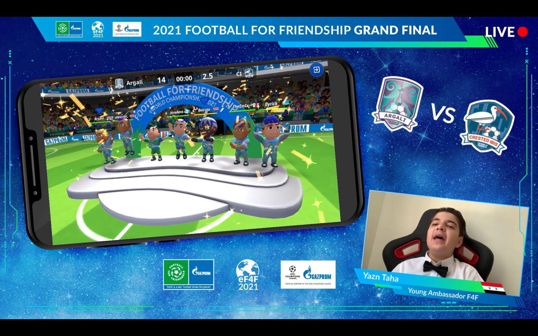 Foto de  El programa social infantil internacional Gazprom Football