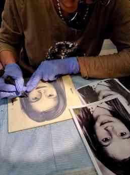 Foto de Práctica de Tatuaje Realista