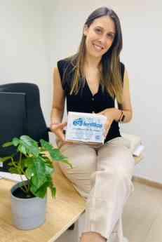 Foto de Patricia Rodríguez CEO de E-Lentillas