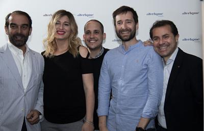 Foto de Por la izq: Alfredo, Patricia (CEO), Agustín, Joan y Carlos