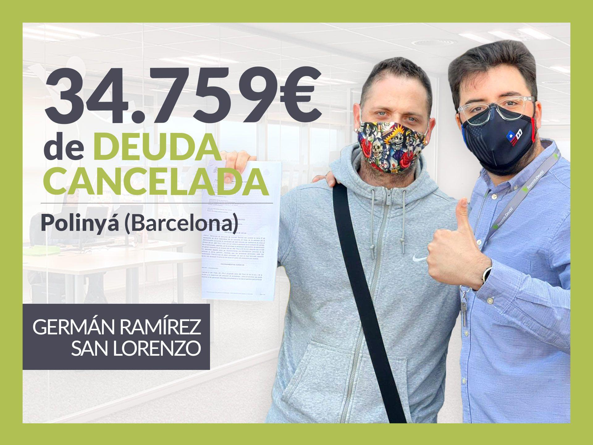 Foto de Germán Ramírez (a la izquierda), exonerado con Repara Tu