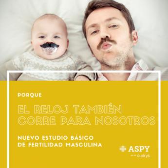 Estudio de fertilidad masculina de ASPY en Barcelona