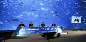 Día Mundial de los Océanos en el acuario Poema del Mar