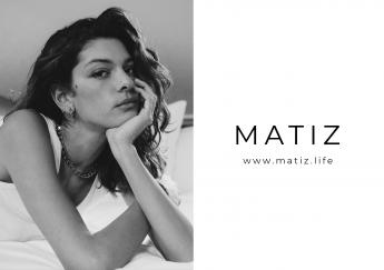Logo MATIZ e imagen Marta Ortiz